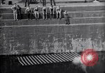 Image of life raft Cardiff Wales, 1935, second 5 stock footage video 65675033887