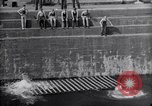 Image of life raft Cardiff Wales, 1935, second 7 stock footage video 65675033887