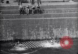 Image of life raft Cardiff Wales, 1935, second 11 stock footage video 65675033887