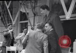 Image of eight feet tall man Vienna Austria, 1935, second 2 stock footage video 65675033889