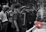 Image of eight feet tall man Vienna Austria, 1935, second 10 stock footage video 65675033889