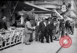 Image of eight feet tall man Vienna Austria, 1935, second 13 stock footage video 65675033889