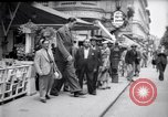 Image of eight feet tall man Vienna Austria, 1935, second 14 stock footage video 65675033889