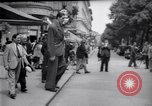 Image of eight feet tall man Vienna Austria, 1935, second 15 stock footage video 65675033889