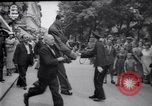 Image of eight feet tall man Vienna Austria, 1935, second 16 stock footage video 65675033889