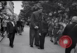 Image of eight feet tall man Vienna Austria, 1935, second 17 stock footage video 65675033889