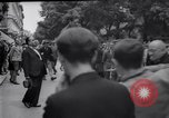 Image of eight feet tall man Vienna Austria, 1935, second 18 stock footage video 65675033889
