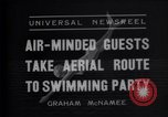 Image of swimming pool Ambler Pennsylvania USA, 1935, second 3 stock footage video 65675033891