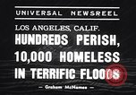 Image of terrific floods Los Angeles California USA, 1938, second 4 stock footage video 65675033894