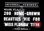 Image of Miss Florida contest Miami Florida USA, 1938, second 4 stock footage video 65675033898