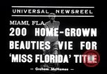 Image of Miss Florida contest Miami Florida USA, 1938, second 6 stock footage video 65675033898