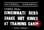 Image of training camp Tampa Florida USA, 1938, second 2 stock footage video 65675033902