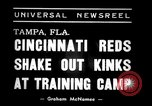 Image of training camp Tampa Florida USA, 1938, second 3 stock footage video 65675033902