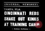 Image of training camp Tampa Florida USA, 1938, second 6 stock footage video 65675033902