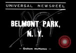 Image of War Admiral Belmont Park New York USA, 1938, second 2 stock footage video 65675033910