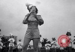 Image of drum majorette classes Long Beach California USA, 1938, second 10 stock footage video 65675033915