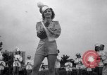 Image of drum majorette classes Long Beach California USA, 1938, second 12 stock footage video 65675033915