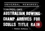 Image of sculls title race Toronto Ontario Canada, 1938, second 4 stock footage video 65675033922