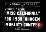 Image of Miss California contest Venice Beach Los Angeles California USA, 1938, second 2 stock footage video 65675033923