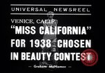 Image of Miss California contest Venice Beach Los Angeles California USA, 1938, second 4 stock footage video 65675033923