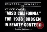 Image of Miss California contest Venice Beach Los Angeles California USA, 1938, second 5 stock footage video 65675033923