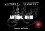 Image of Soap Box Derby Akron Ohio USA, 1938, second 3 stock footage video 65675033926
