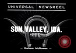 Image of The 2nd Annual Rodeo Sun Valley Idaho USA, 1938, second 4 stock footage video 65675033928