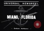 Image of Annual yachting classic Miami Florida USA, 1939, second 7 stock footage video 65675033932