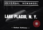 Image of Olympic trials Lake Placid New York USA, 1939, second 3 stock footage video 65675033934