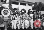 Image of girl jockeys Mexico, 1939, second 5 stock footage video 65675033936