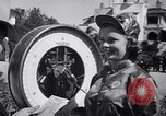 Image of girl jockeys Mexico, 1939, second 10 stock footage video 65675033936