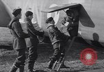 Image of British RAF bombers flying from France early in World War 2 France, 1940, second 11 stock footage video 65675033941