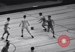 Image of basketball match New York United States USA, 1940, second 5 stock footage video 65675033945