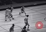 Image of basketball match New York United States USA, 1940, second 6 stock footage video 65675033945