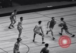 Image of basketball match New York United States USA, 1940, second 7 stock footage video 65675033945