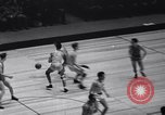 Image of basketball match New York United States USA, 1940, second 8 stock footage video 65675033945