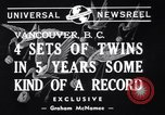 Image of new record Vancouver British Columbia Canada, 1940, second 5 stock footage video 65675033950