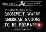 Image of Franklin Roosevelt Washington DC USA, 1940, second 4 stock footage video 65675033951