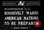 Image of Franklin Roosevelt Washington DC USA, 1940, second 5 stock footage video 65675033951