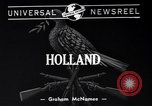 Image of Dutch troops Holland Netherlands, 1940, second 2 stock footage video 65675033952