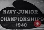 Image of Navy Junior Boxing Championship Annapolis Maryland USA, 1940, second 9 stock footage video 65675033956