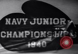 Image of Navy Junior Boxing Championship Annapolis Maryland USA, 1940, second 10 stock footage video 65675033956