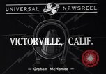 Image of Charlie McCarthy Victorville California USA, 1940, second 3 stock footage video 65675033958