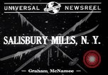 Image of Ski Jumping meet Salisbury Mills New York USA, 1941, second 2 stock footage video 65675033964