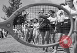 Image of Donald Budge runs a Tennis Clinic Miami Florida USA, 1938, second 7 stock footage video 65675033968