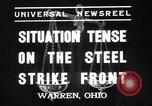 Image of steel workers strike Warren Ohio USA, 1937, second 5 stock footage video 65675033975