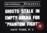 Image of Heavyweight championship New York United States USA, 1937, second 1 stock footage video 65675033978