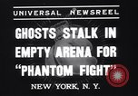 Image of Heavyweight championship New York United States USA, 1937, second 4 stock footage video 65675033978