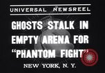 Image of Heavyweight championship New York United States USA, 1937, second 5 stock footage video 65675033978