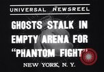 Image of Heavyweight championship New York United States USA, 1937, second 6 stock footage video 65675033978